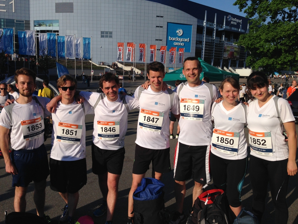 Ai beim B2Run Hamburg
