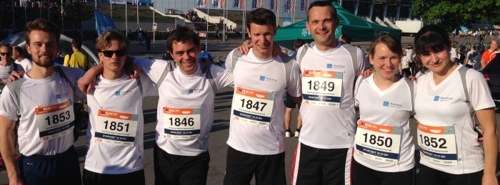 Averdung Ingenieure nehmen erfolgreich am B2 Run Hamburg teil